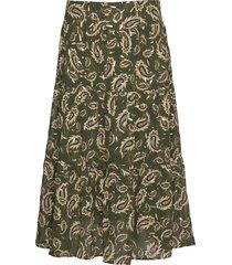 skirt lång kjol grön sofie schnoor