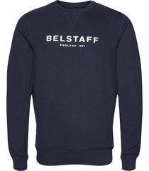belstaff 1924 sweatshirt sweat-shirt trui blauw belstaff