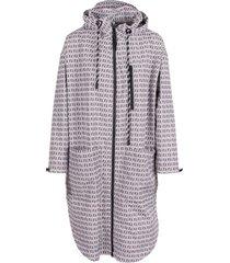 fendi double ff polyester coat