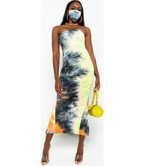 akira in the groove tie dye tube dress