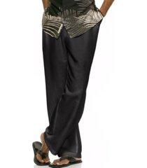 """cubavera solid linen-blend drawstring pants 30"""" inseam"""