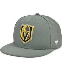 authentic nhl headwear vegas golden knights basic fan snapback cap