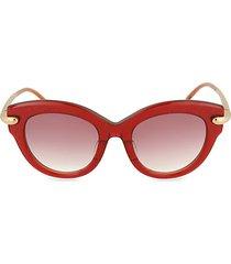 novelty 51mm cat eye sunglasses