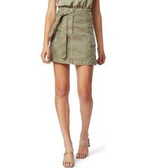 women's habitual vidal utility skirt, size small - green