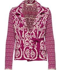 knitted love cardigan gebreide trui cardigan roze odd molly