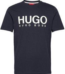 dolive212 t-shirts short-sleeved blå hugo