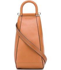 jw anderson small wedge crossbody bag - brown
