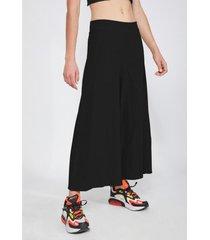 pantalón maxi culotte negro sioux