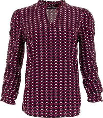 sanell blouse triangle