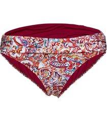 mystic paisley shirred band hipster bikinitrosa lila lauren ralph lauren swimwear