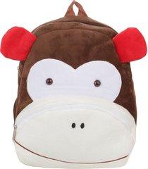 mochila marrón trendy  mono