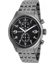 reloj invicta 0368 tungsteno acero inoxidable