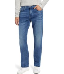 men's 7 for all mankind the straight slim straight leg jeans, size 40 - blue