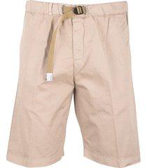 white sand bermuda shorts
