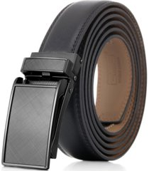 mio marino men's linxx designer ratchet leather belt