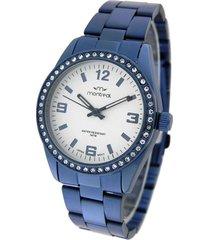 reloj azul montreal steel