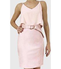 vestido  rosa liola
