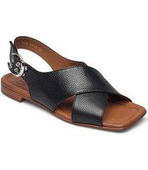 sandals 2703 shoes summer shoes flat sandals svart billi bi