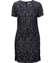 ija korte jurk blauw custommade