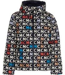 mcm mcm monogramme jacket