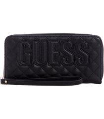 guess brielle zip-around wallet