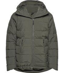 stranda down hybrid jkt outerwear sport jackets grön bergans