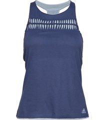 melbourne tank w t-shirts & tops sleeveless blå adidas tennis