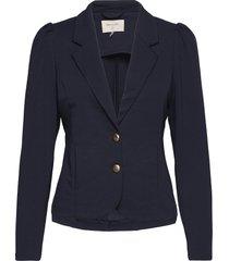fqdécor-ja-puff blazers casual blazers blå free/quent