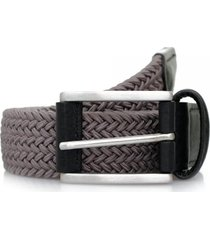 anderson's belts elastic woven belt | grey | b667/n1 g