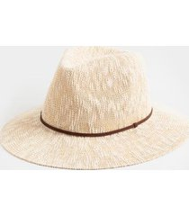 adriene braided band panama hat - beige