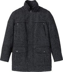giacca lunga in simil lana (grigio) - bpc selection