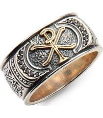 men's konstantino stavros spinel signet ring