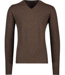 william lockie pullover lamswol bruin