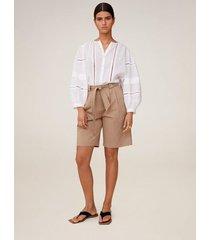 soft shorts met strik