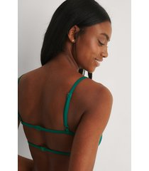 marije zuurveld x na-kd recycled bikiniöverdel - green