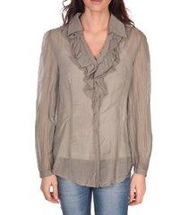 blouse vision de reve tunique lorine 7068 taupe