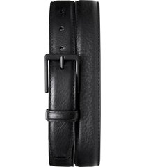 men's shinola guardian leather belt set, size 42 - black whiskey