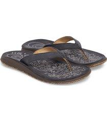women's olukai 'paniolo' thong sandal, size 11 m - blue