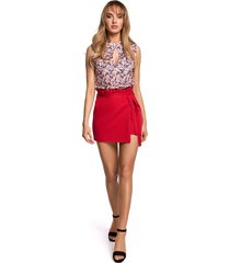 spódnico-spodnie szorty-czerwone(m-515)