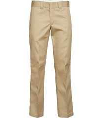 slim straight work pant chinos byxor beige dickies