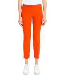 theory women's classic skinny pants - fire opal - size 0
