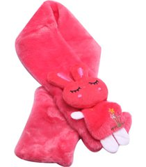 cachecol smm acessorios coelhinho rosa pink