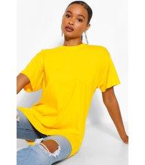 basic short sleeve t-shirt, gold