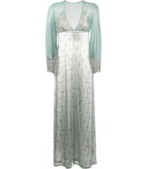 myla rosemoor street nightgown - blue