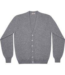 maglione da uomo, linsieme, 100% lana grigio scuro, autunno inverno