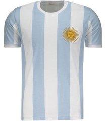 camisa argentina retrô 1986 masculina