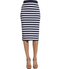 michael michael kors striped skirt