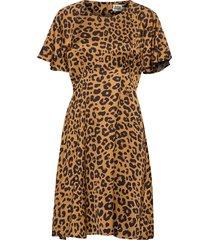 elmira dress kort klänning brun twist & tango