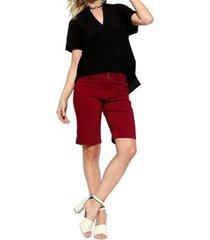 camisa energia fashion manga curta feminina