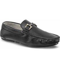 mocasines albano negro para hombre croydon